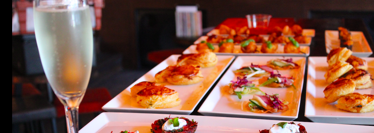 christmas canape catering